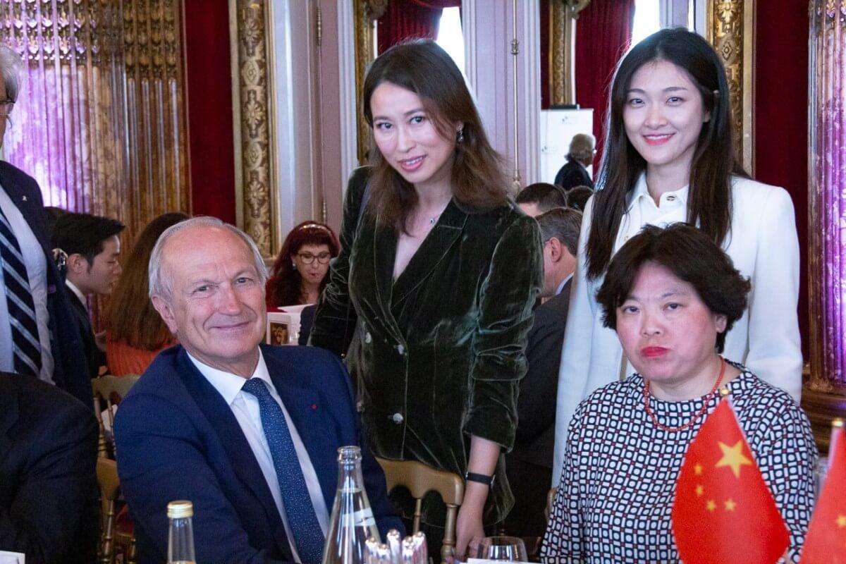 YuanYuan GAO, Ministre auprès de l'Ambassadeur de Chine